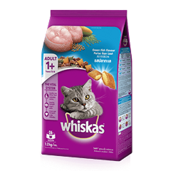 Ocean Fish Dry Cat Food from Whiskas for Adult 1+ Cats