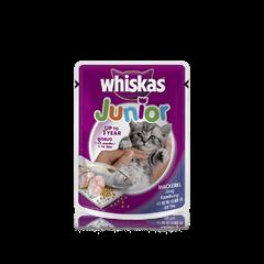 Mackerel Wet Kitten Food Pouch from Whiskas for Junior Cats
