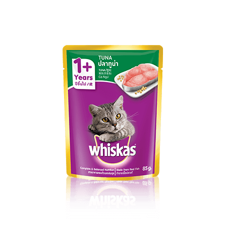 Tuna Wet Cat Food Pouch from Whiskas for Adult 1+ Cats