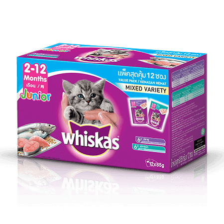 Kitten Food Pouch Tuna Mackerel Multipack Wet Food For Kittens