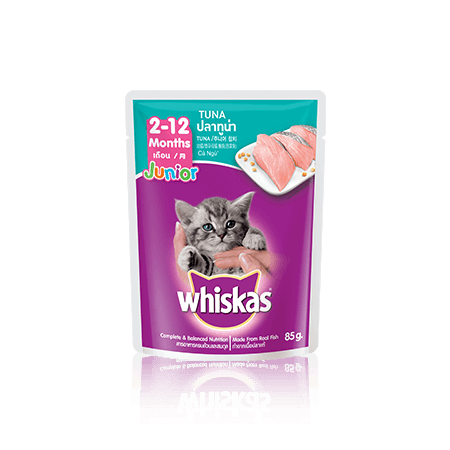 Kitten Food Pouch Tuna Wet Food Pouch For Kittens Whiskas
