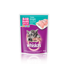 Whiskas® Pouch Junior <br/>Tuna Kitten Food