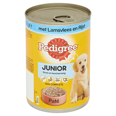 PEDIGREE® Junior Paté  Lam en Rijst