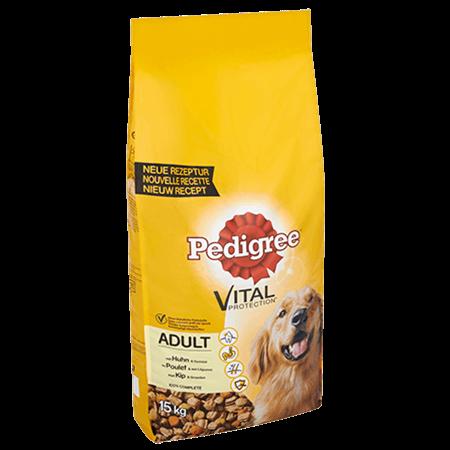PEDIGREE® VITAL PROTECTION™ Adult met Kip en Groenten 15 kg