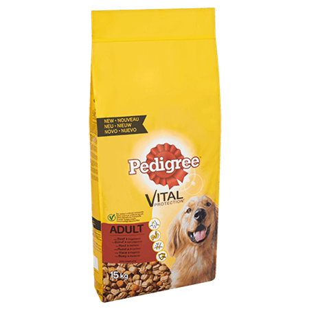 PEDIGREE® VITAL PROTECTION™ Adult met Rund & Groenten