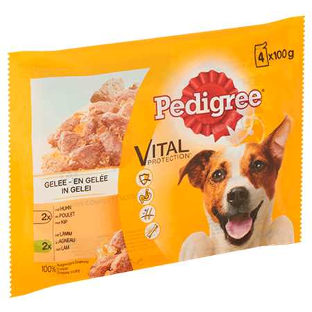 PEDIGREE® Vital Protection in Gelei   4x100