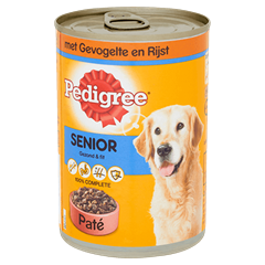 PEDIGREE® Senior Paté  Gevogelte