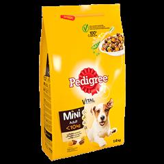 PEDIGREE® VITAL PROTECTION™ Mini Adult met Kip en Groenten 1.4kg