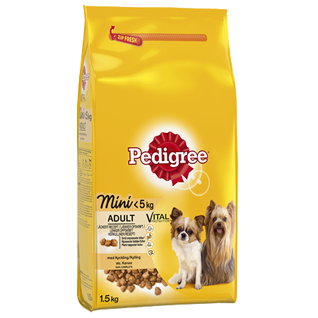 PEDIGREE®<sup>®</sup> Adult Mini<5kg Kylling