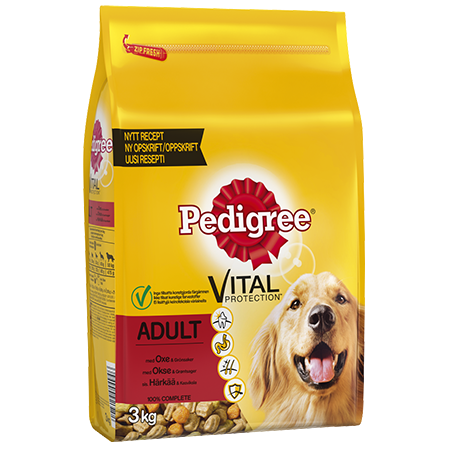 PEDIGREE®<sup>®</sup> Adult Oksekjøtt