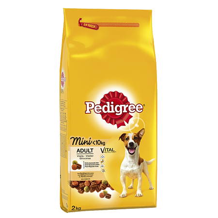 Pedigree<sup>®</sup> Adult Small Dog<10kg Kylling