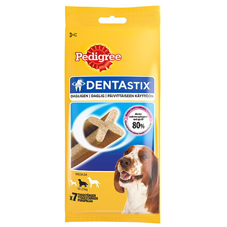 PEDIGREE®<sup>®</sup> DentaStix™ Medium 7 stk.