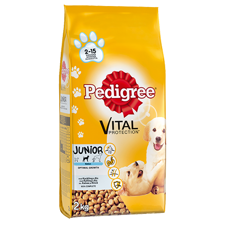 Pedigree<sup>®</sup> Vital Protection Junior Kylling