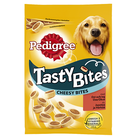 Pedigree<sup>®</sup> Tasty Bites Cheesy Bites