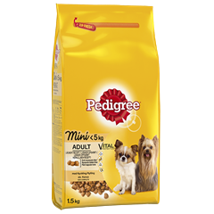 PEDIGREE® Adult Mini<5kg Kylling