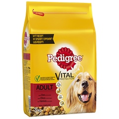 PEDIGREE® Vital Protection Adult Oksekjøtt