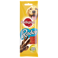 PEDIGREE® Rodeo Oksekjøtt 4 pack