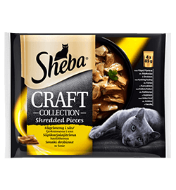 Sheba® Craft fjærfe 4-pack