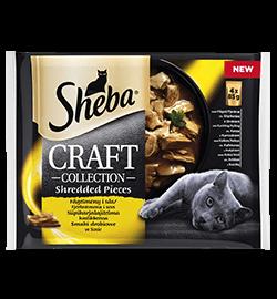 Sheba® Craft Fjærkre 4-pack