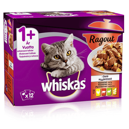 Whiskas® Ragout Klassisk Menu