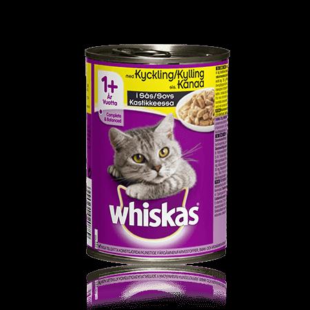 Whiskas® Kylling i saus