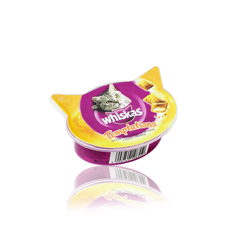 Whiskas® Temptations Kylling & Ost