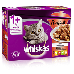 Whiskas® AMMP Ragout Klassisk Menu