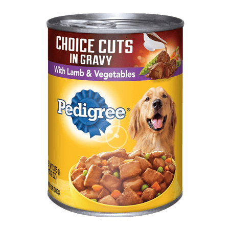 PEDIGREE<sup>®</sup> Choices Cuts in Gravy with Lamb & Vegetables