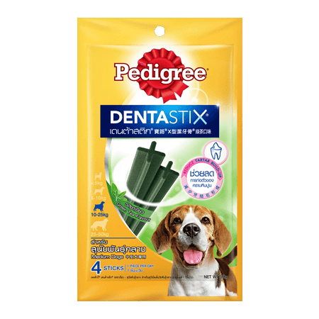 PEDIGREE<sup>®</sup> DentaStix<sup>®</sup> Medium Green Tea