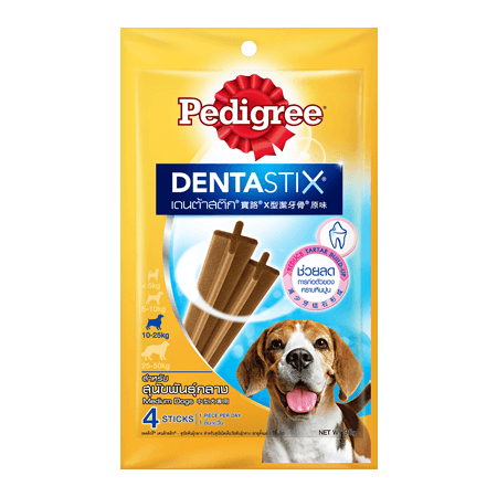 PEDIGREE<sup>®</sup> DentaStix<sup>®</sup> Medium Regular