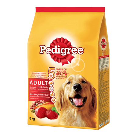 PEDIGREE<sup>®</sup> Dry Adult Beef & Vegetables Flavour
