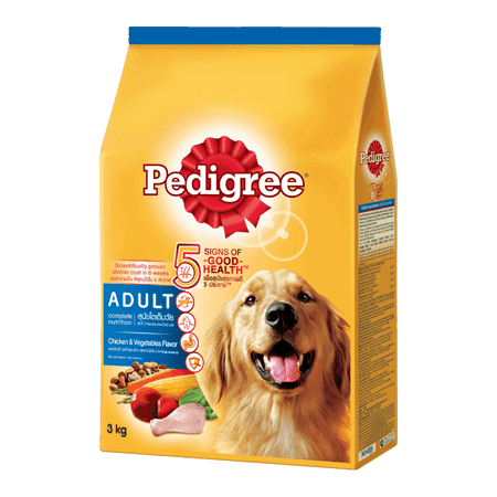 PEDIGREE<sup>®</sup> Dry Adult Chicken & Vegatables Flavour