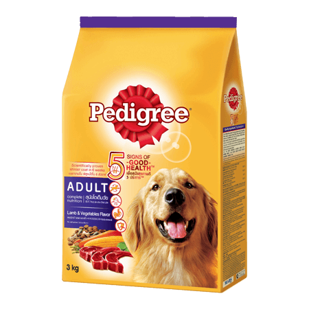 PEDIGREE<sup>®</sup> Dry Adult Lamb & Vegatables Flavour