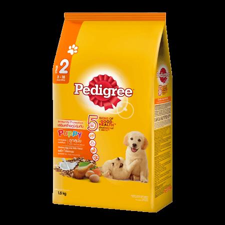 PEDIGREE<sup>®</sup> Dry Puppy Chicken, Egg & Milk