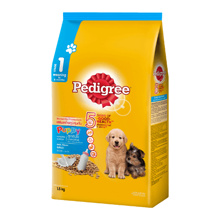 PEDIGREE<sup>®</sup> Dry Puppy with Milk (Weaning - 6 months)