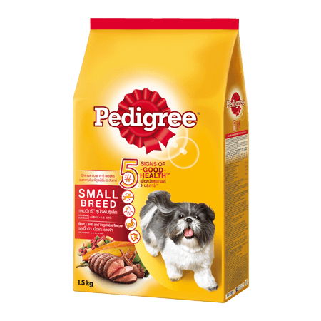 PEDIGREE<sup>®</sup> Dry Small Breed Beef, Lamb & Vegetables