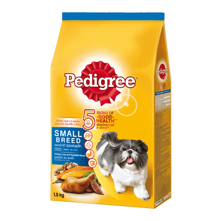PEDIGREE<sup>®</sup> Dry Small Breed Chicken, Liver & Vegetables