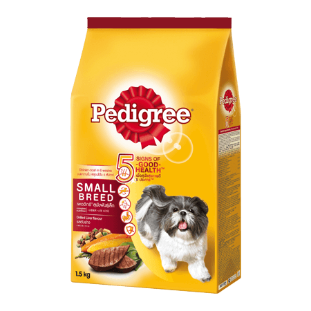 PEDIGREE<sup>®</sup> Dry Small Breed Grilled Liver
