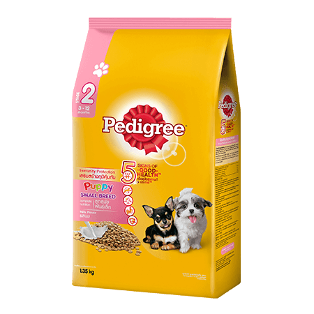 PEDIGREE<sup>®</sup> Dry Small Breed Puppy Milk Flavor