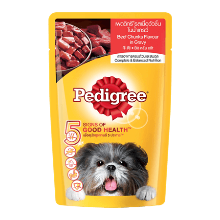 PEDIGREE<sup>®</sup> Pouch Adult Beef
