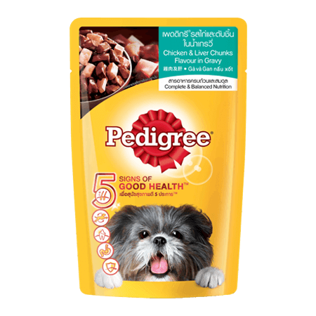 PEDIGREE<sup>®</sup> Pouch Adult Chicken & Liver