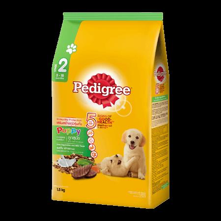 PEDIGREE<sup>®</sup> Puppy Liver, Vegetables & Milk