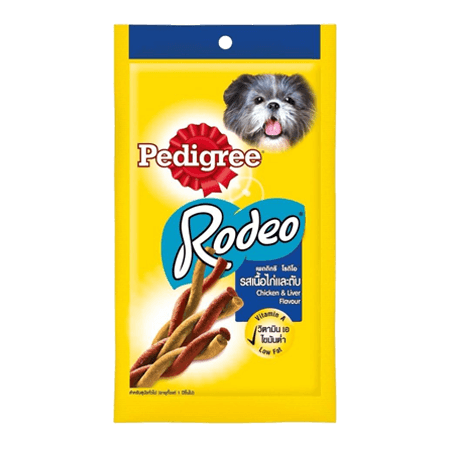 PEDIGREE<sup>®</sup> Rodeo Chicken & Liver