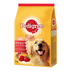 Pedigree® Dry Adult Beef & Vegetables Flavour