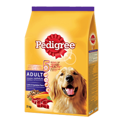 Pedigree® Dry Adult Lamb & Vegatables Flavour