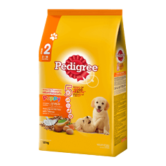 Pedigree® Dry Puppy Chicken, Egg & Milk