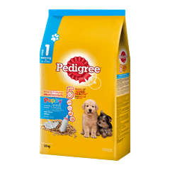 Pedigree® Dry Puppy with Milk (Weaning - 6 months)
