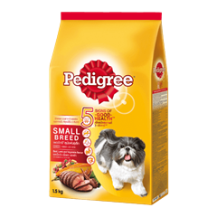 Pedigree® Dry Small Breed Beef, Lamb & Vegetables