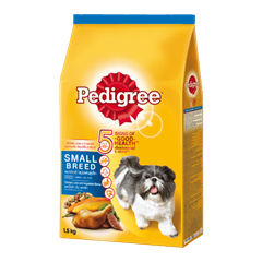 Pedigree® Dry Small Breed Chicken, Liver & Vegetables