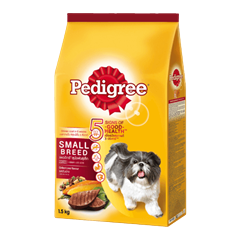 Pedigree® Dry Small Breed Grilled Liver